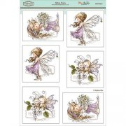 Wee Stamps Topper Sheet A4 - Silver Fairy