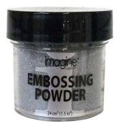 Embossingpulver Imagine Crafts 28 gram - Silver Detalj