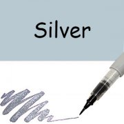 Wink Of Stella Glitter Brush - Silver