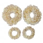 Sisal Wreaths Prima - Christmas In The Country - 4 st