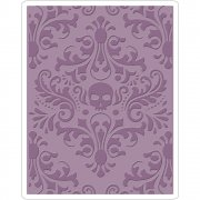 Sizzix - Embossing Folder - Skull by Tim Holtz