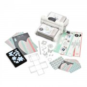 Sizzix Big Shot Plus A4 Starter Kit - White & Grey - Fraktfri