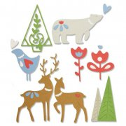 Sizzix Thinlits Dies - Christmas Elements