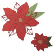 Sizzix Thinlits Dies - Poinsettia