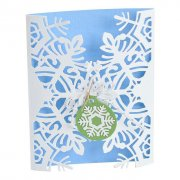 Sizzix Thinlits Dies Card Wrap - Snowflake