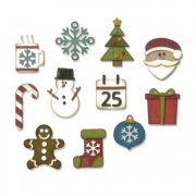 Sizzix Thinlits Dies - Mini Christmas Things - 11st