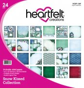 Paper Pad 12x12 - Heartfelt Creations - Snow Kissed