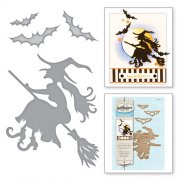 Dies Spellbinders - Witch On Broom