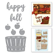 Dies Spellbinders - Happy Fall Apple Autumn