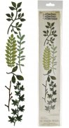 Sizzlits Decorative Strip - Spring Greenery by Tim Holtz