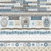 Stickers 12x12 - Frosted - Kaisercraft