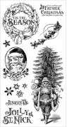 Graphic 45 Cling Stamps - St Nicholas - #1