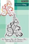Cling Stamp Penny Black - Oh Christmas Tree