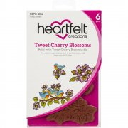 Stämpelset Heartfelt Creations - Tweet Cherry Blossoms