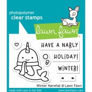 Stämpelset Lawn Fawn - Winter Narwhal