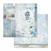 Papper Stamperia - Blue Land - Lamp