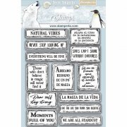 Cling Stamps Stamperia - Arctic Antarctic - Full of You