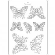 Stamperia Texture Impression Mould - Butterflies