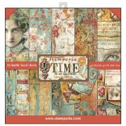 "Paper Pad 12""x12"" - Stampedia - Time is an Illusion"