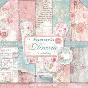 "Paper Pad 12""x12"" - Stamperia - Dream"