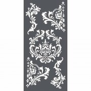 Stamperia Stencil 12x25cm - Thick Stencil Decorations