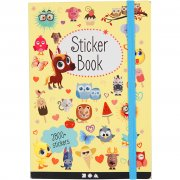 Bok Med Stickers | 11,5x17x1,5 cm | 80 Sidor