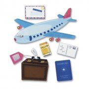 3D Stickers Jolees - Airplane Travel
