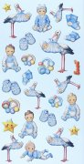 Softy Stickers 3D - Baby Boy II