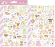 Stickers Doodlebug - Bundle of Joy - 2 ark