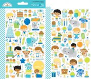 Stickers Doodlebug - Party Time - 2 ark