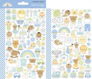 Stickers Doodlebug - Special Delivery - 2 ark