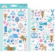 Stickers Doodlebug - Winter Wonderland - 2 ark