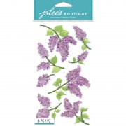 3D Stickers Jolees - Lovely Lilacs