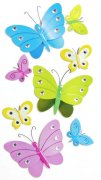 3D Stickers Mix - Butterflies - Heyda