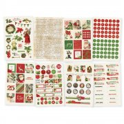 Stickers kit - Simple Stories - Simple Vintage Christmas