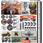 Stickers Reminisce - Easy Rider