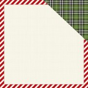 Papper Carta Bella - Christmas Delivery - Striped Frame