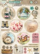 Studio Light Topper Sheet A4 - Memories of summer
