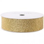 Glitter Tape Bred 2 cm - American Crafts - 3 yards - Brown Sugar (Gold)