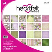 Paper Pad 12x12 - Heartfelt Creations - Sugar Hollow