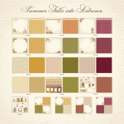 Hel Kollektion - Summer Falls into Autumn - Pion Design 17 ark