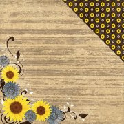 Papper Moxxie - Country Chic - Sunflowers