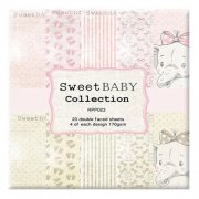 Paper Pad 6x6 Reprint - Sweet Baby Pink