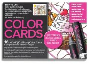 Chameleon Color Cards - Embossed Lines - 10x15 - Sweet Treats