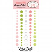 Sweet Baby Girl - Enamel Dots 60 st - Echo Park