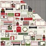 Papper Carta Bella - Christmas Delivery - Christmas Tags