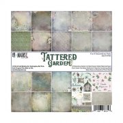 Paper Pad 6x6 - Tattered Garden - 49 and Market