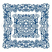 Dies Tattered Lace - Totally Entwined Square