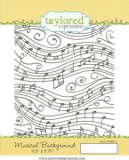 Stämpel Taylored Expressions - Musical Background