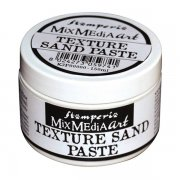 Texture Sand Paste Stamperia - Snow White